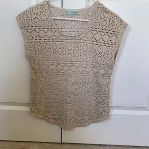 Maurices Knit Blouse Size M